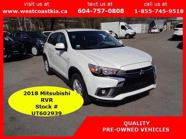 2018 Mitsubishi RVR SE AWC**Htd Cloth Seats**BU Cam**Sirius Radio