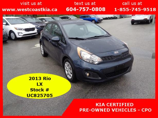 2013 Kia Rio5 LX+, Hatchback, great on gas and ready to go!