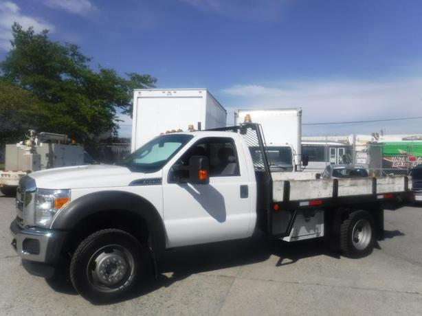 2015 Ford F-450 SD Regular Cab DRW 4WD Flat Deck 12 foot