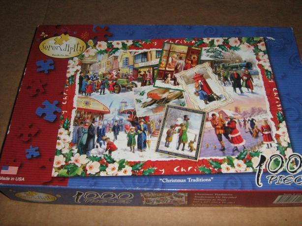 CHRISTMAS JIGSAW PUZZLES  -  1000 PIECES