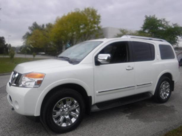 2015 Nissan Armada Platinum 4WD with 3rd Row Seating