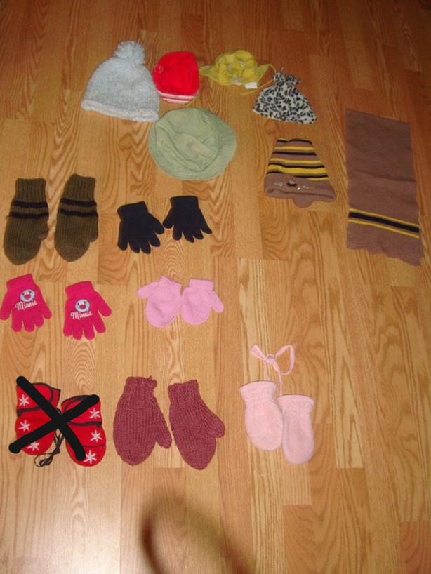 Like New Hats, Mittens & Scarves - $1 each