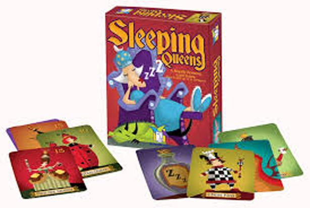 New Sleeping Queen – A Royalty Rousing Card Game - $15