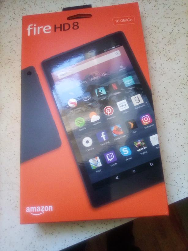 Amazon fire 8 inch HD Tablet