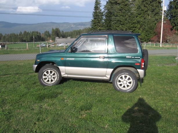 Mini Pajero - Smallest SUV made