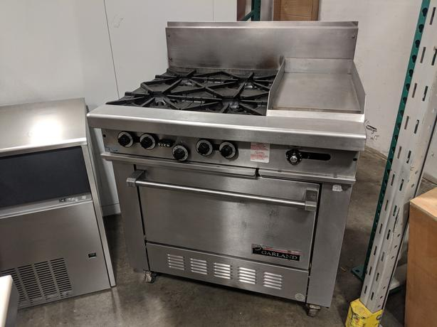 "Garland 36"" Natural Gas Combo Range – June 2 Auction"