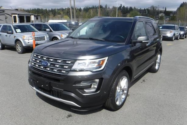 2017 Ford Explorer Limited 4WD 3rd Row Seating