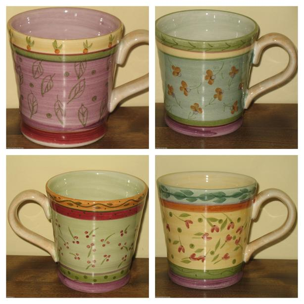 Julie Ingleman Designs Coffee Mugs from the Culinary Arts Studio Collection
