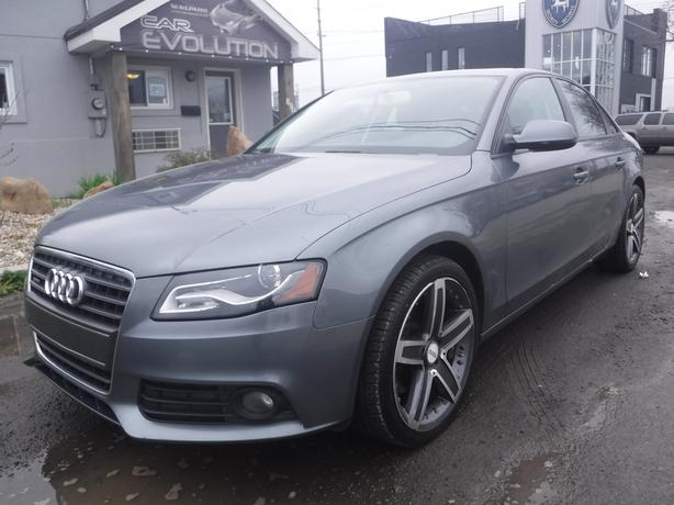 2012 Audi A4 2.0T GREAT DEAL AWD ! CERTIFIED+WRTY $12990
