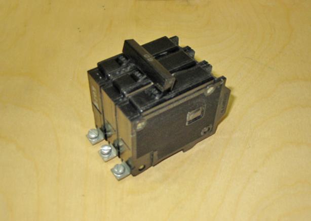 COMMANDER QBH 60 Amp, 3 Pole, 240 Volt Circuit Breaker (CEB QBH360) ~ Rare!