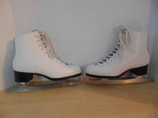 Figure Skates Ladies Size 9 Jackson Glacier 410 Leather  Excellent
