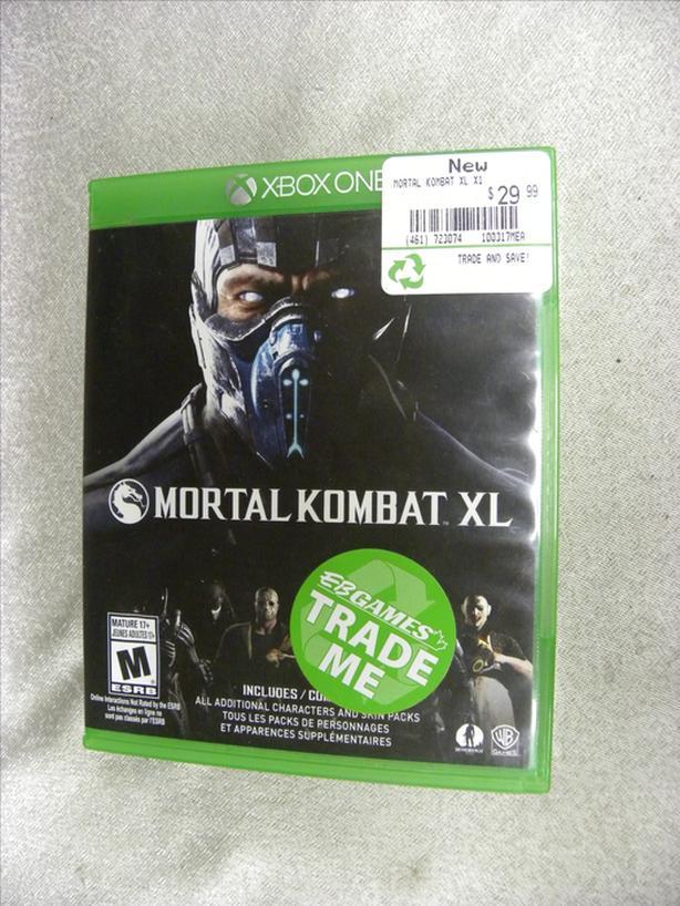 #166552-17 Mortal Kombat XL for Xbox One