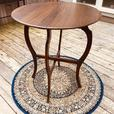 Drop-leaf folding occasional table