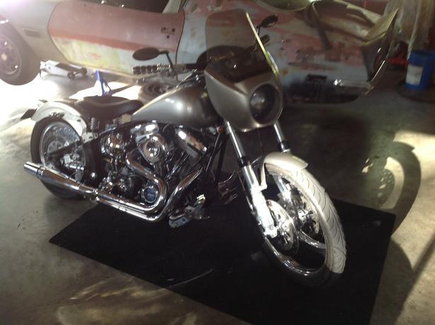 1992 fxst custom