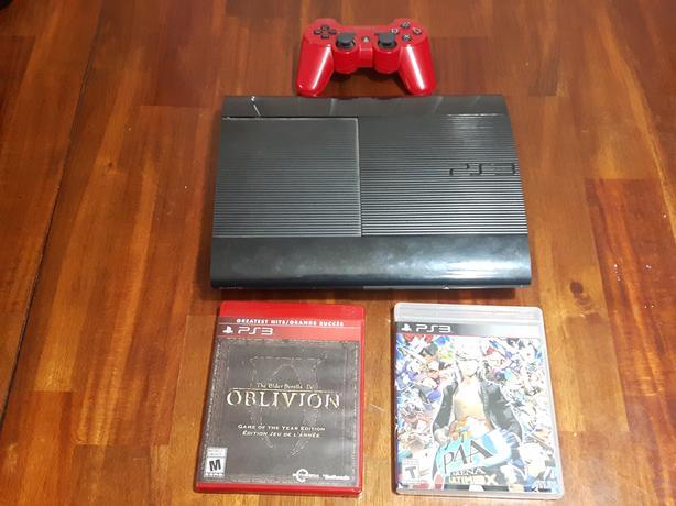 PS3 Super Slim +2 games