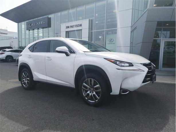 2015 Lexus NX 200t Premium Package AWD Local B.C.