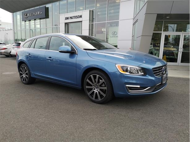 2015 Volvo V60 T6 AWD Local B.C.