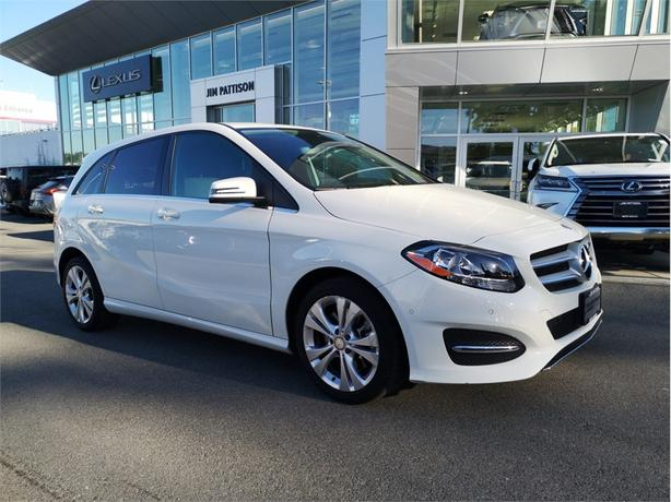 2015 Mercedes-Benz B-Class Sports Tourer AWD  Local To B.C. Service History