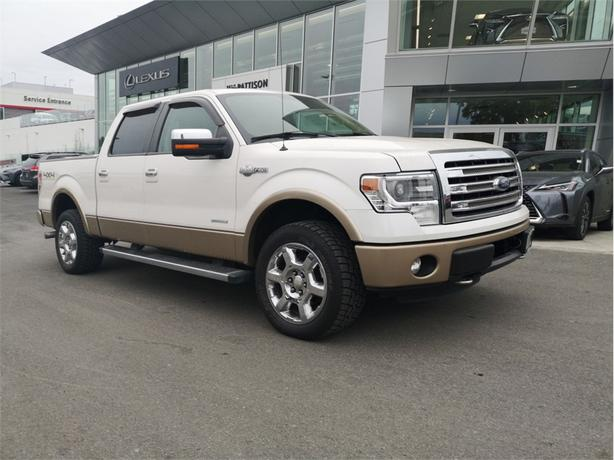 2013 Ford F-150 King Ranch SuperCrew 5.5 Bed 4WD No Accidents