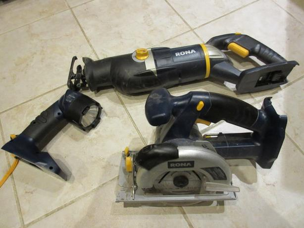 Cordless 18V tool attachments