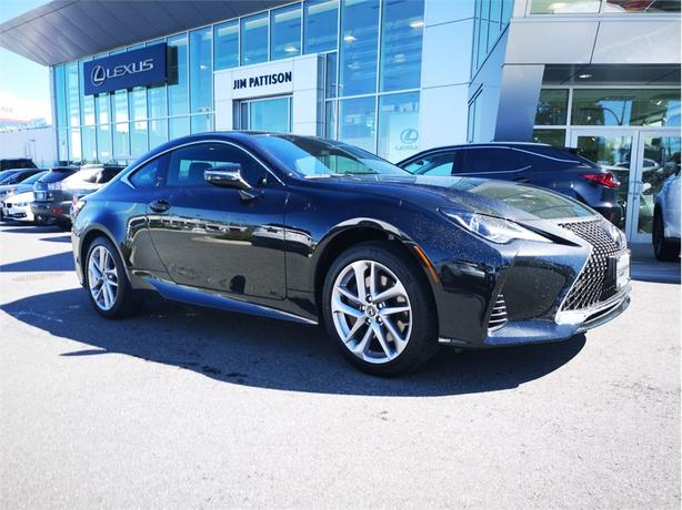 2019 Lexus RC Signature Package AWD Local B.C. Very Low K's