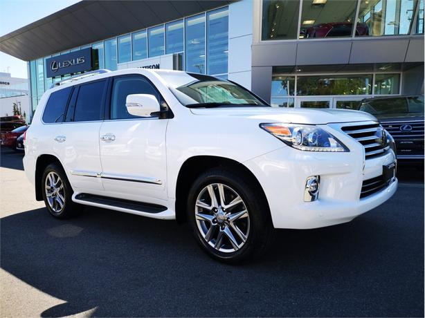 2014 Lexus LX 570 Ultra Premium Package No Accidents Local B.C.