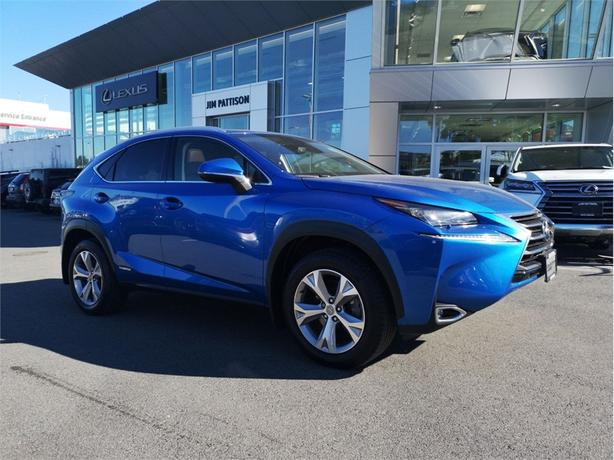 2017 Lexus NX 300h Executive Package One Owner Local Island
