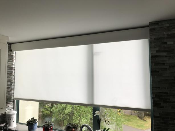 Lutron Battery Powered Roller Blind New Surrey Incl