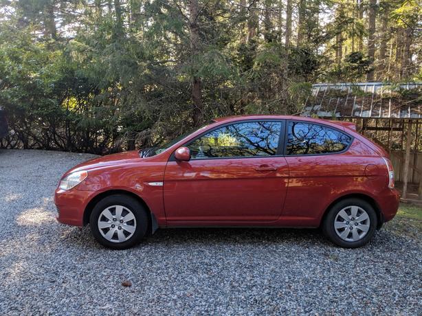 Amazing Fuel Efficient Standard Hyundai Accent Hatchback