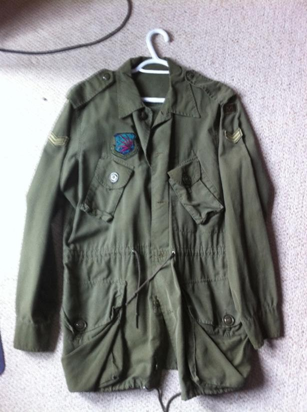 canadian air force jacket