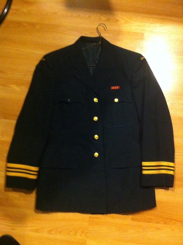 canadian military dress jacket