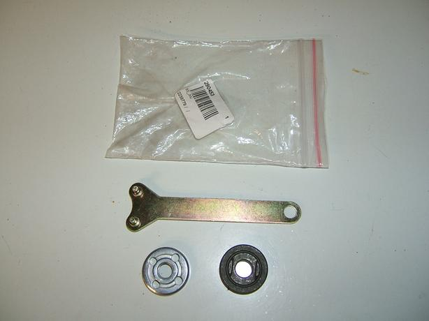 ANGLE GRINDER 3-PIECE SET OF WRENCH & 2 LOCKING NUTS