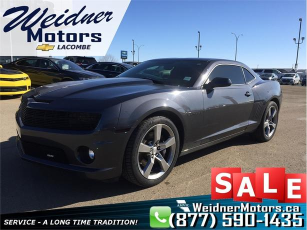 2011 Chevrolet Camaro 1SS *Manual, Cloth, Performance Upgrades*