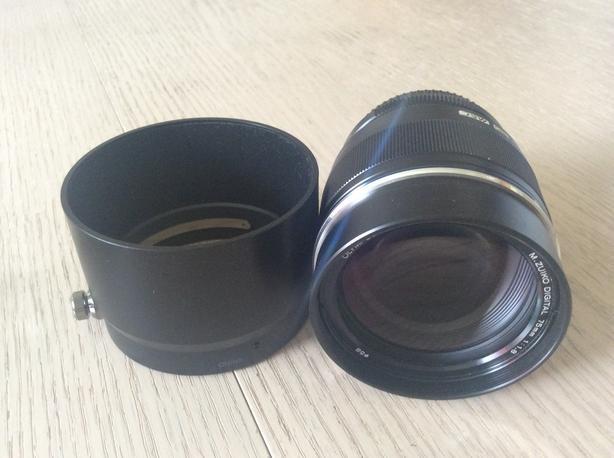 Olympus Zuiko 75 1.8 mft lens