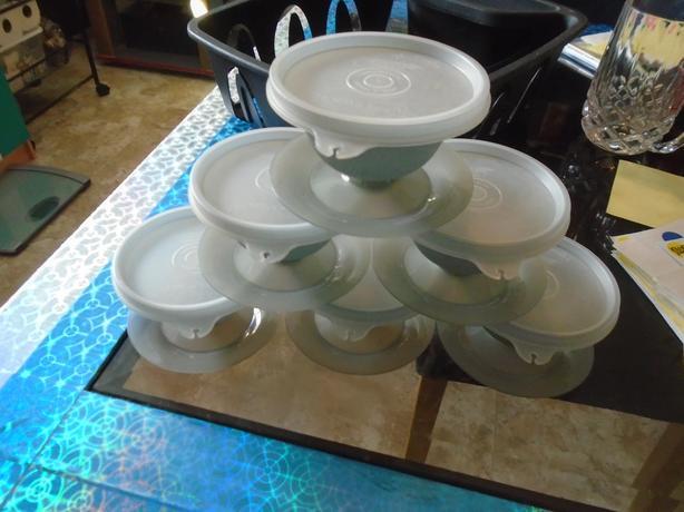 6 Tupperware Parfait Cups BUNDLE