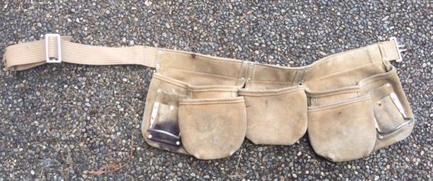 Kuny's Leather Tool Belt/Carpenters Apron