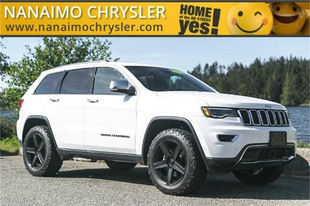 2017 Jeep Grand Cherokee Limited No Accidents Navigation