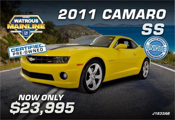 2011 Chevrolet Camaro 1SS