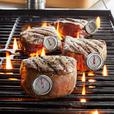 Stainless Steel Steak Button Thermometer (Set of 4)