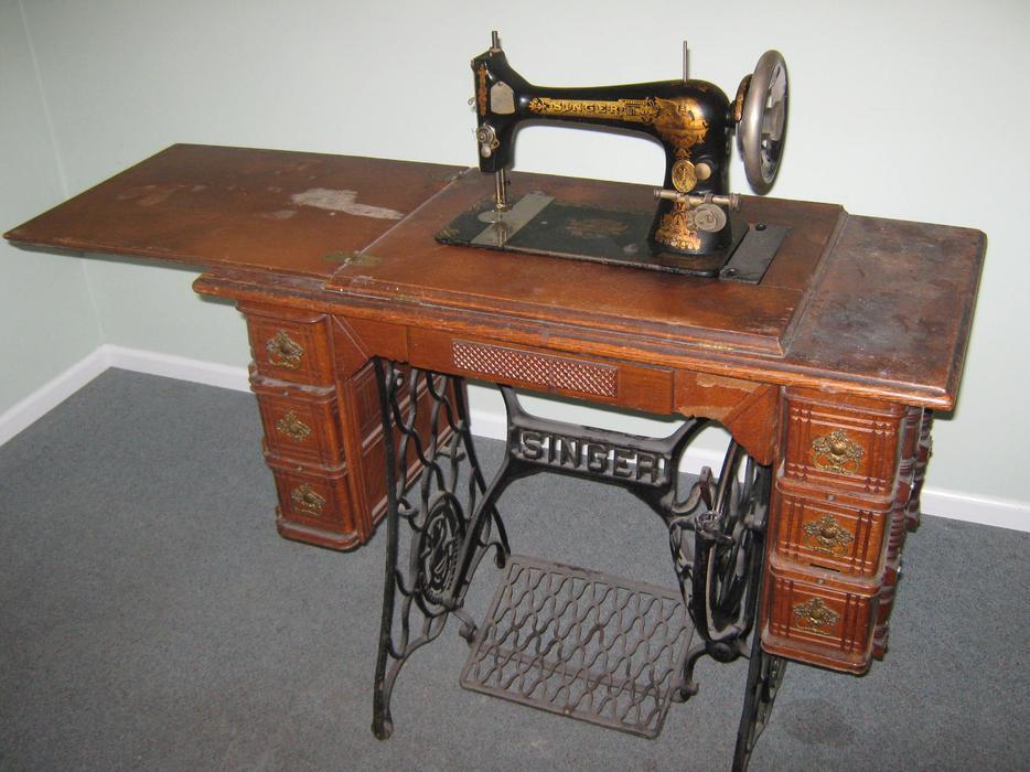 $300 · Singer Treadle Sewing Machine