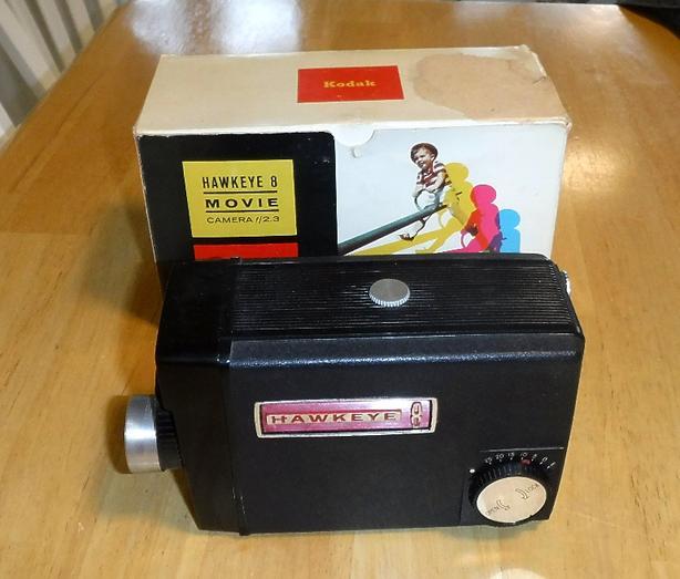 Vintage Kodak Hawkeye 8 Movie Camera
