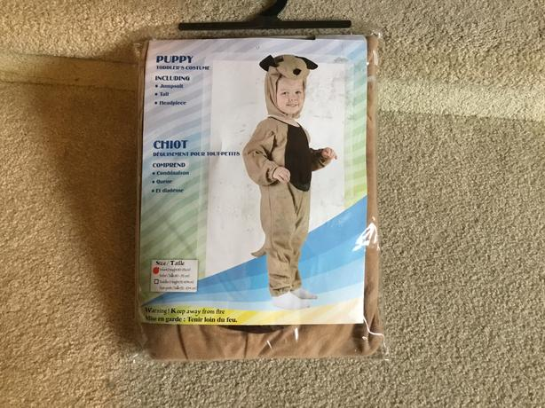 Puppy Costume Infant/Toddler - NEW