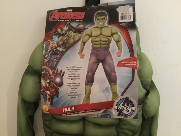 Hulk Costume - NEW - Size Medium Boys
