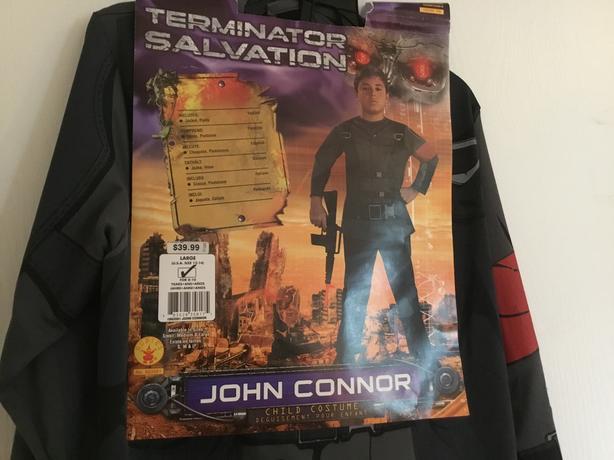 Terminator Costume - NEW - Age 8-10 years