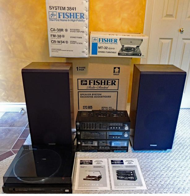  Log In needed $85 · Fisher Stereo System, Vintage