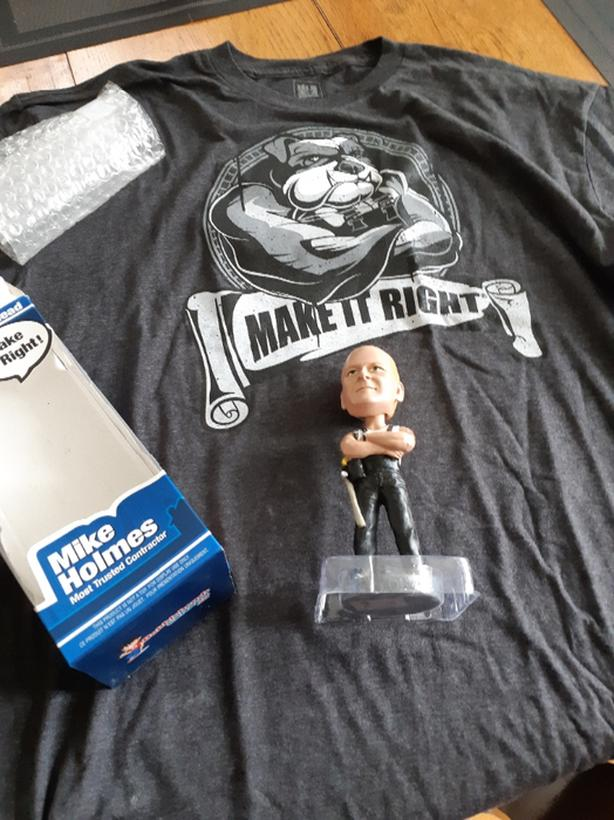 Mike Holmes make it right T Shirt