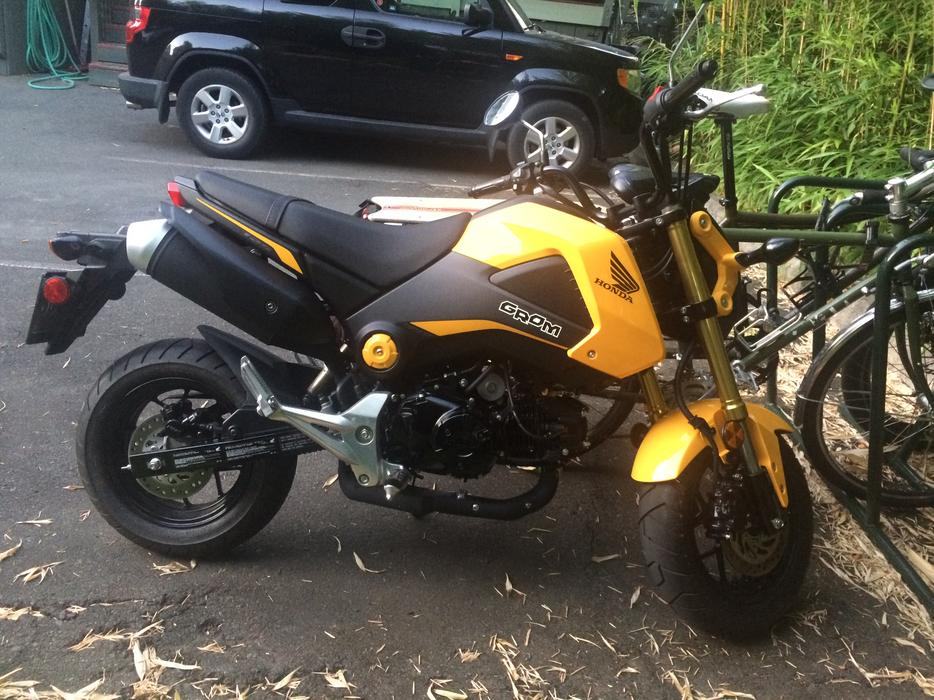 honda grom motorcycle victoria city victoria