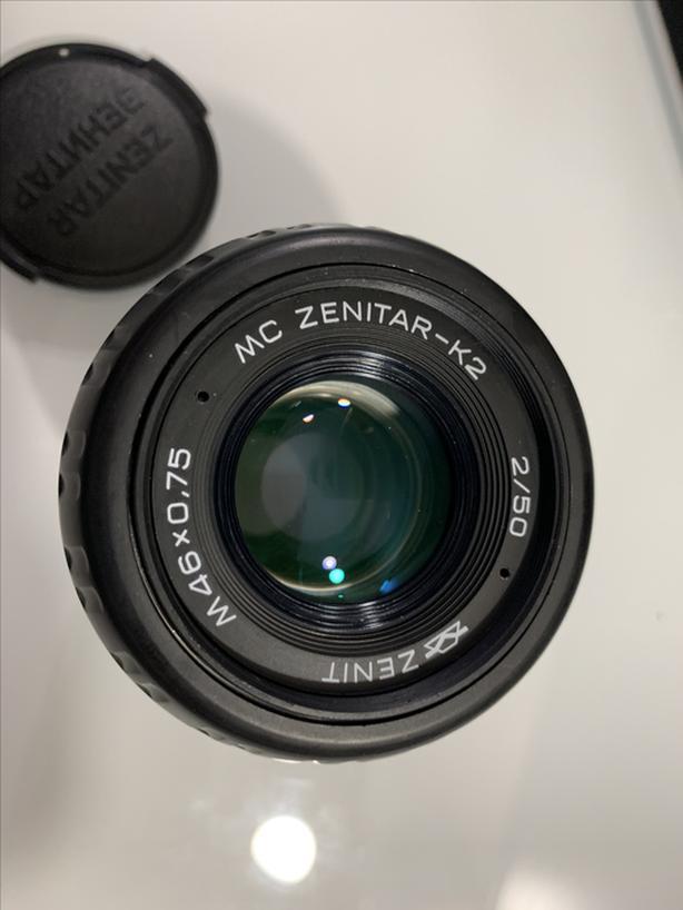 MC ZENITAR-K2 50MM F2.0 manual lens for SONY E mount