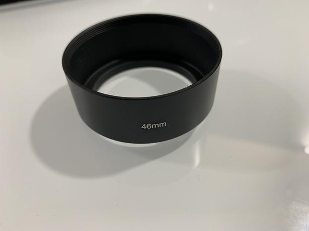 46mm metal lens hood