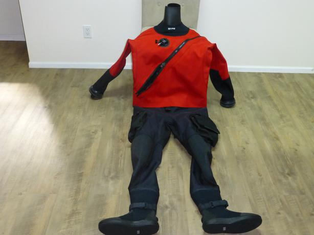 BARE Expedition HD2 Tech Dry Suit